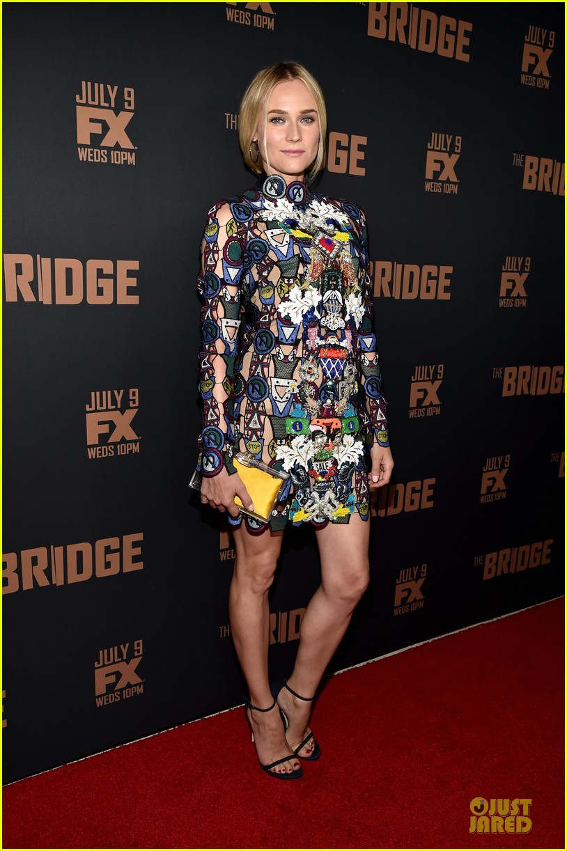 diane kruger brings colorful fashion sense to bridge premiere 12