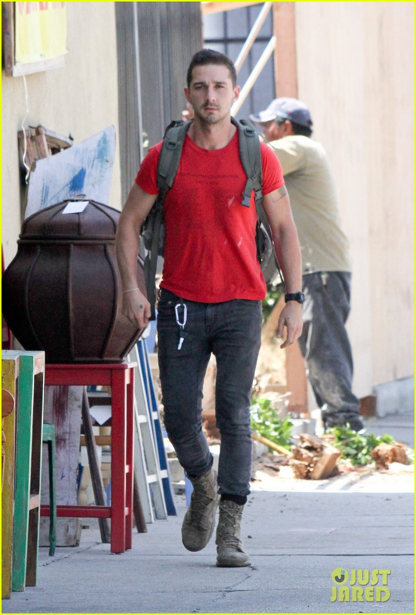 shia labeouf life examined by mel gibson 043152531