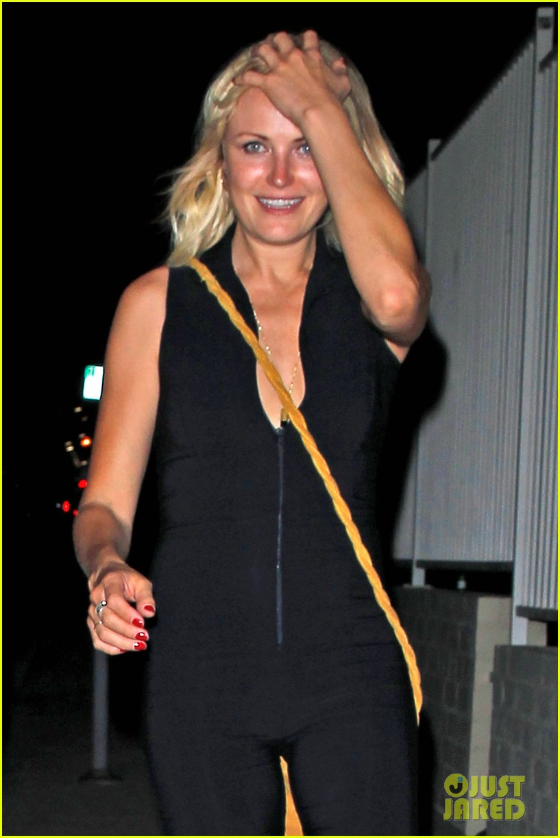 malin akerman wears a skintight jumpsuit out clubbing 013153713