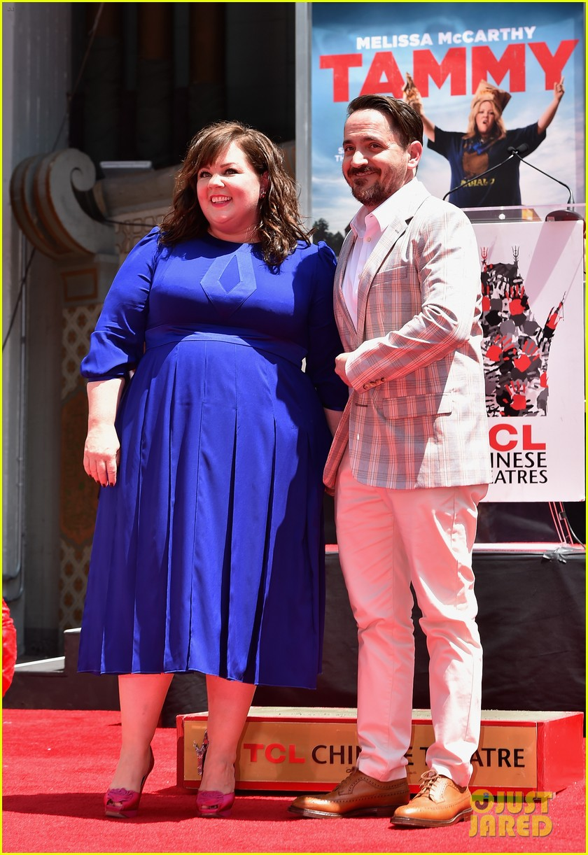 melissa mccarthy hand footprint ceremony 193148528