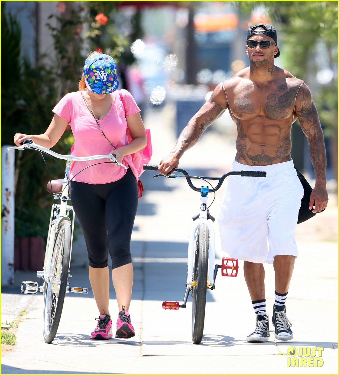 kelly brook fiance david mcintosh should always go shirtless 013149295