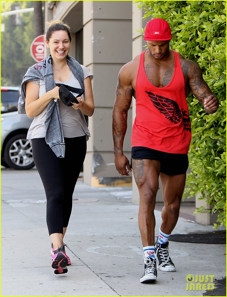 kelly brook fiance david mcintosh should always go shirtless 06