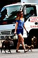 leighton meester dogs pack mice men dressing room 13