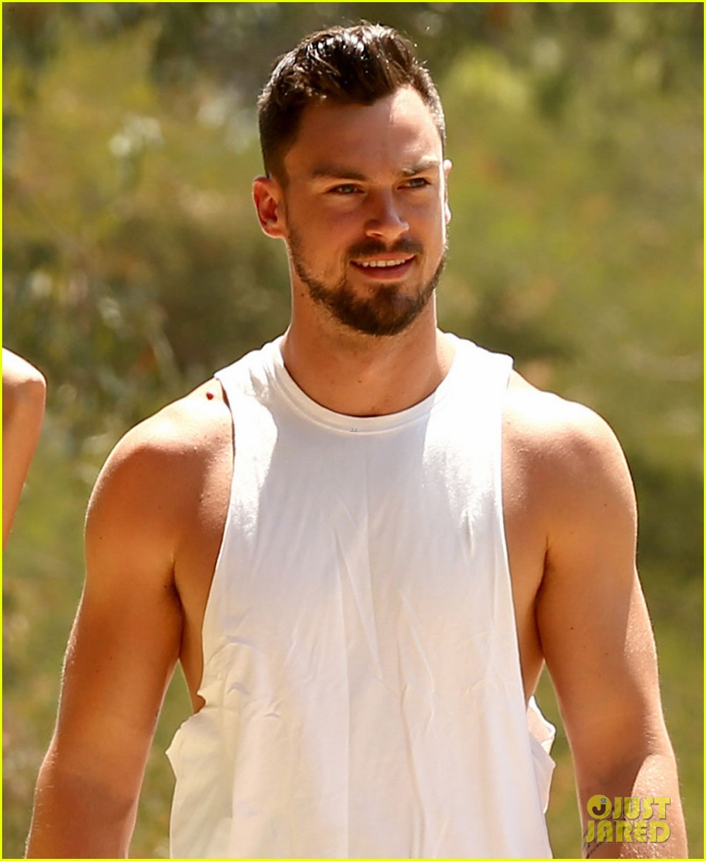 lea michele boyfriend matthew paetz step out together for first time 01