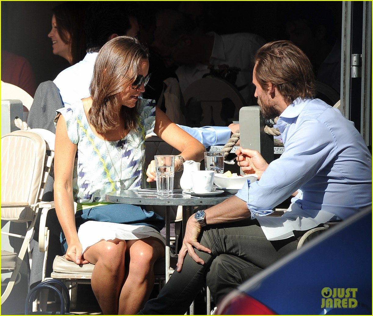 pippa middleton handsome pal make her laugh 18
