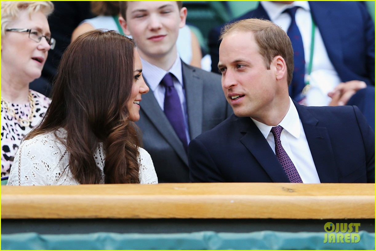 kate middleton prince william cheer on wimbledon 033148740