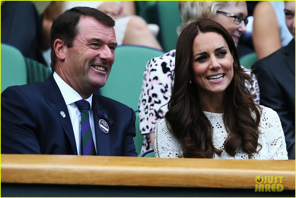 kate middleton prince william cheer on wimbledon 09