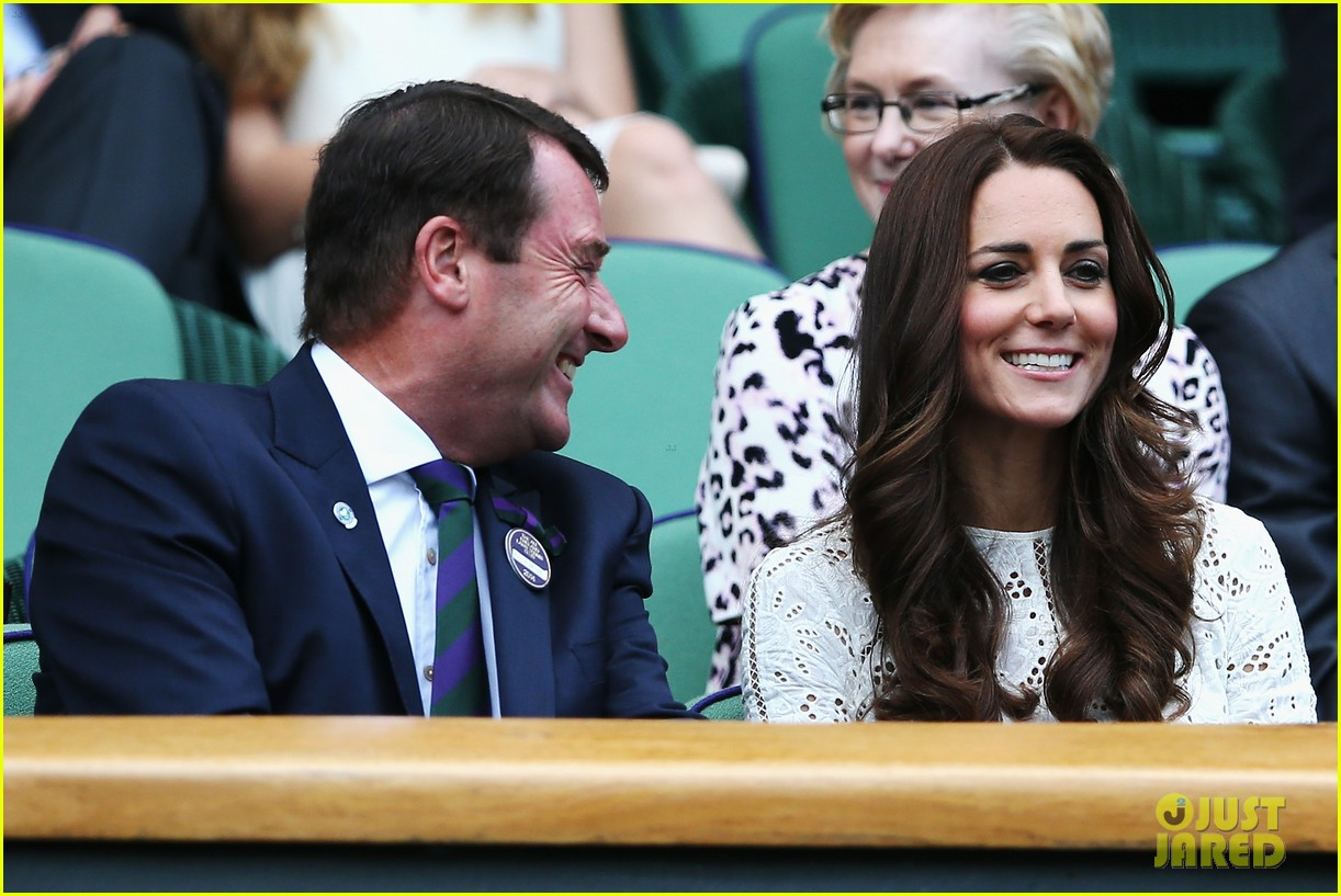 kate middleton prince william cheer on wimbledon 11