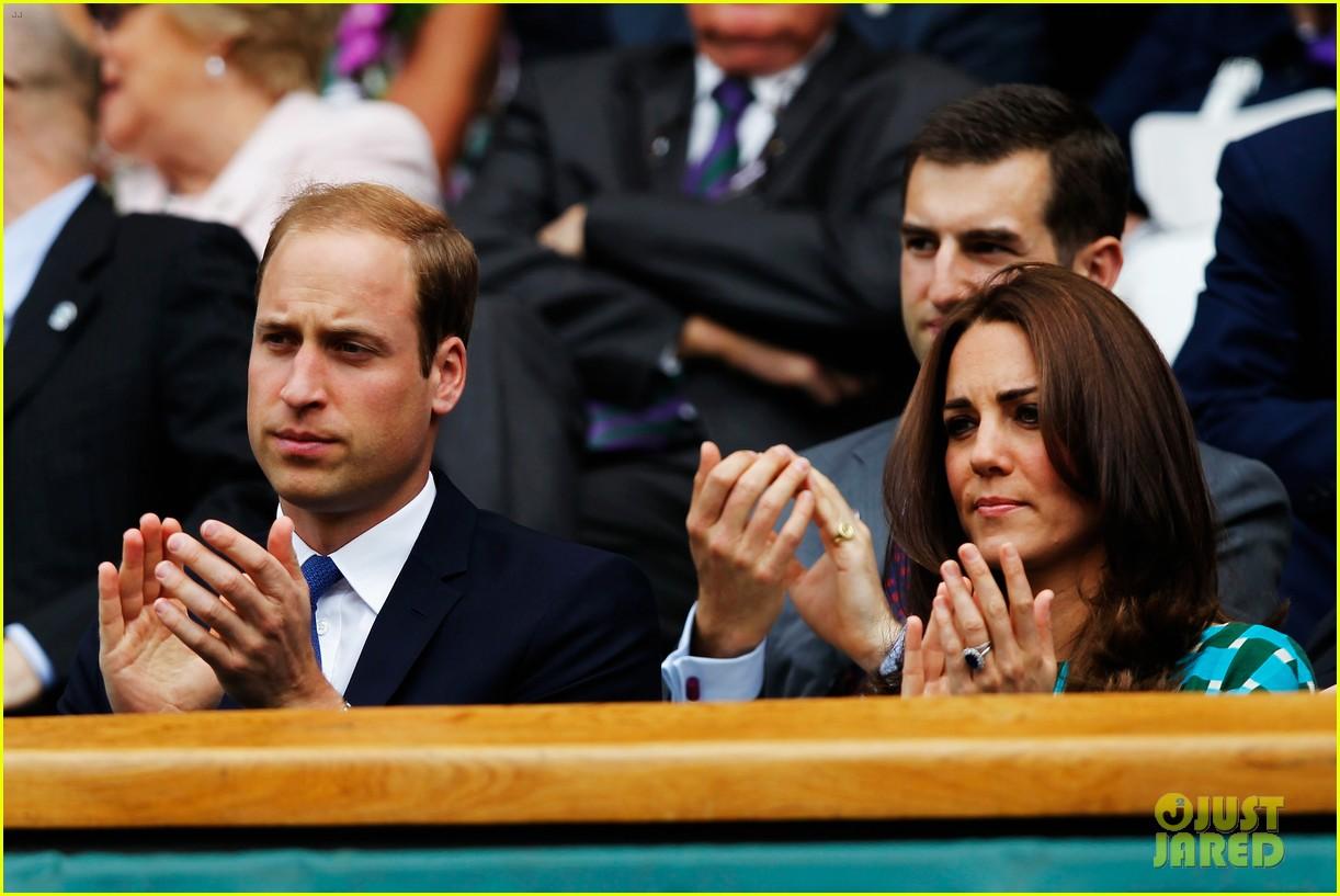 kate middleton prince william greet wimbledon winner 073150509