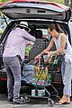 milla jovovich grocery trip friend 13