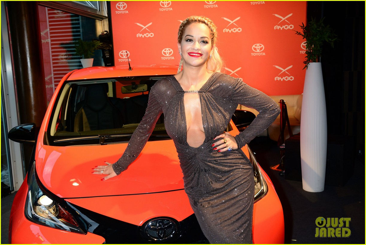 rita ora premieres the new toyota aygo in berlin 063148780