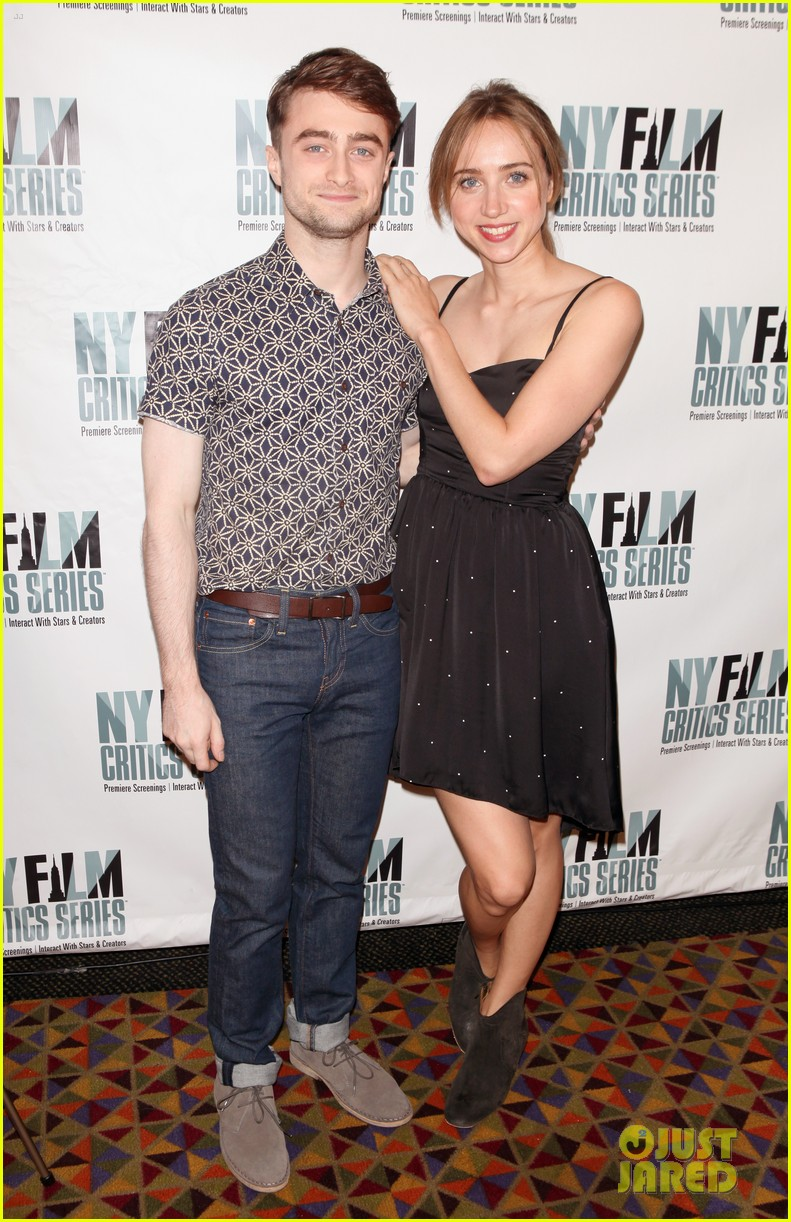 daniel radcliffe zoe kazan what if screening 13