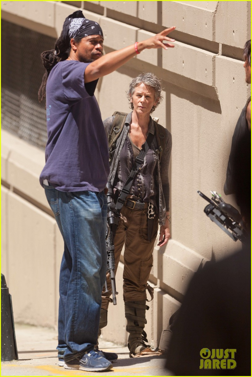 walking dead norman reedus melissa mcbride season five 053148591