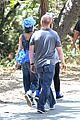 nicole richie rocks blue tutu overalls during hike 06