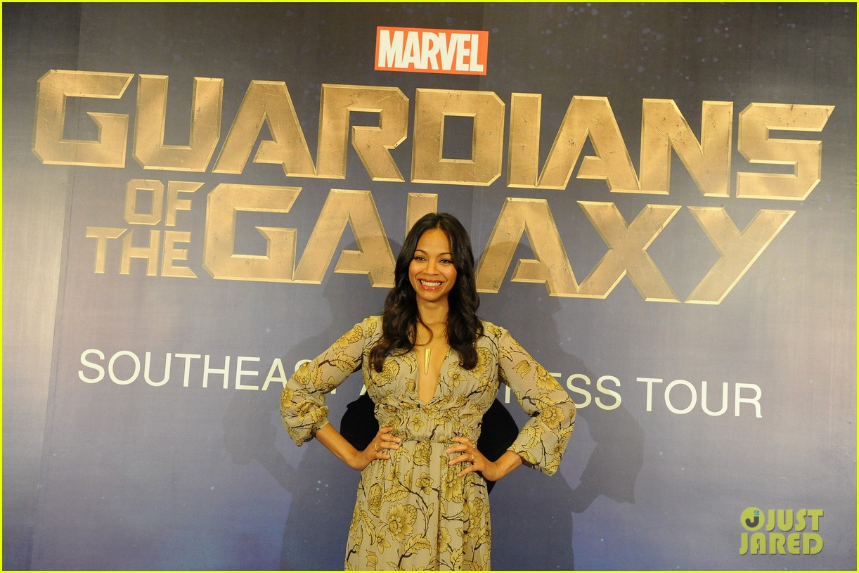 zoe saldana guardians galaxy singapore 01
