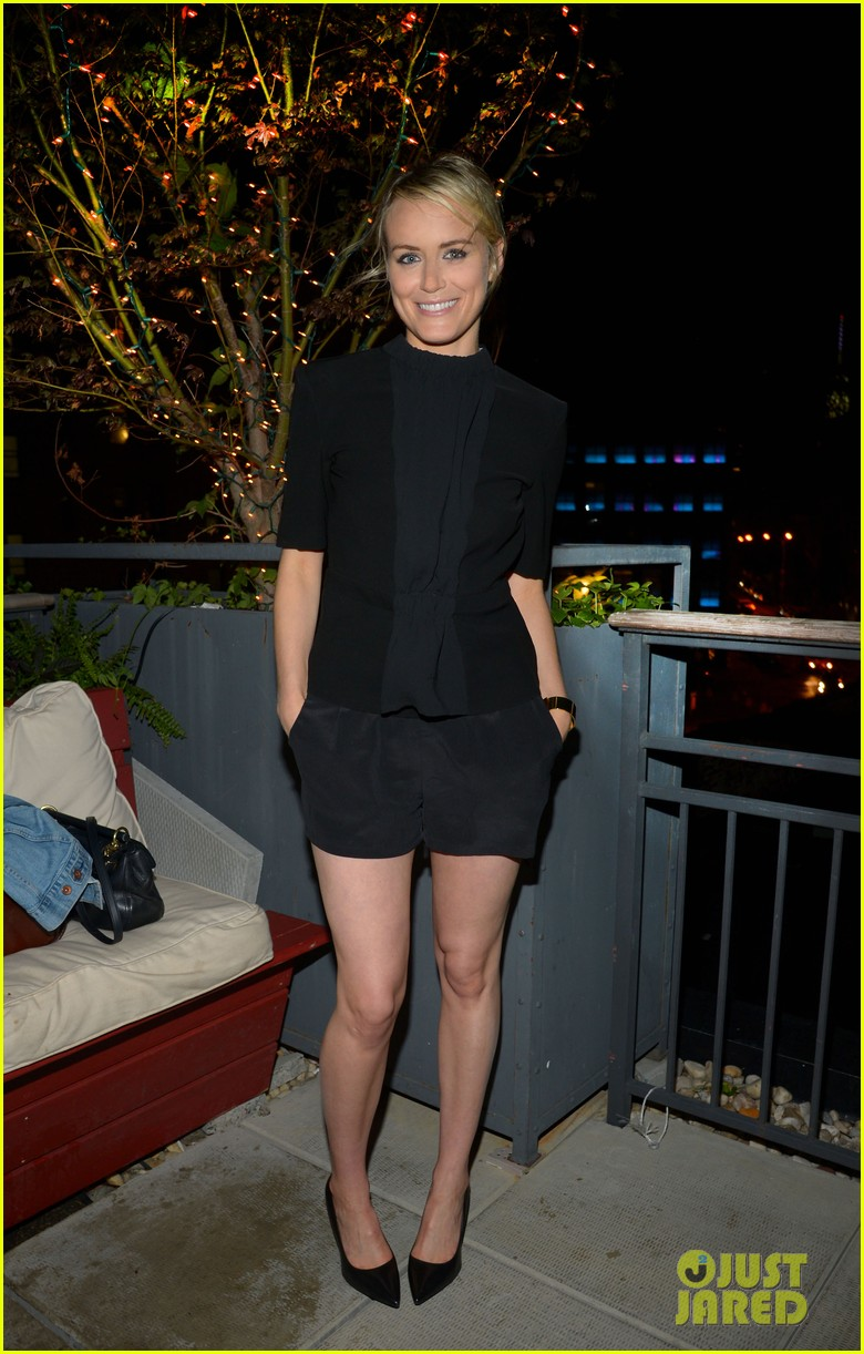 Taylor Schilling Celebrates 30th Birthday With Orange Is