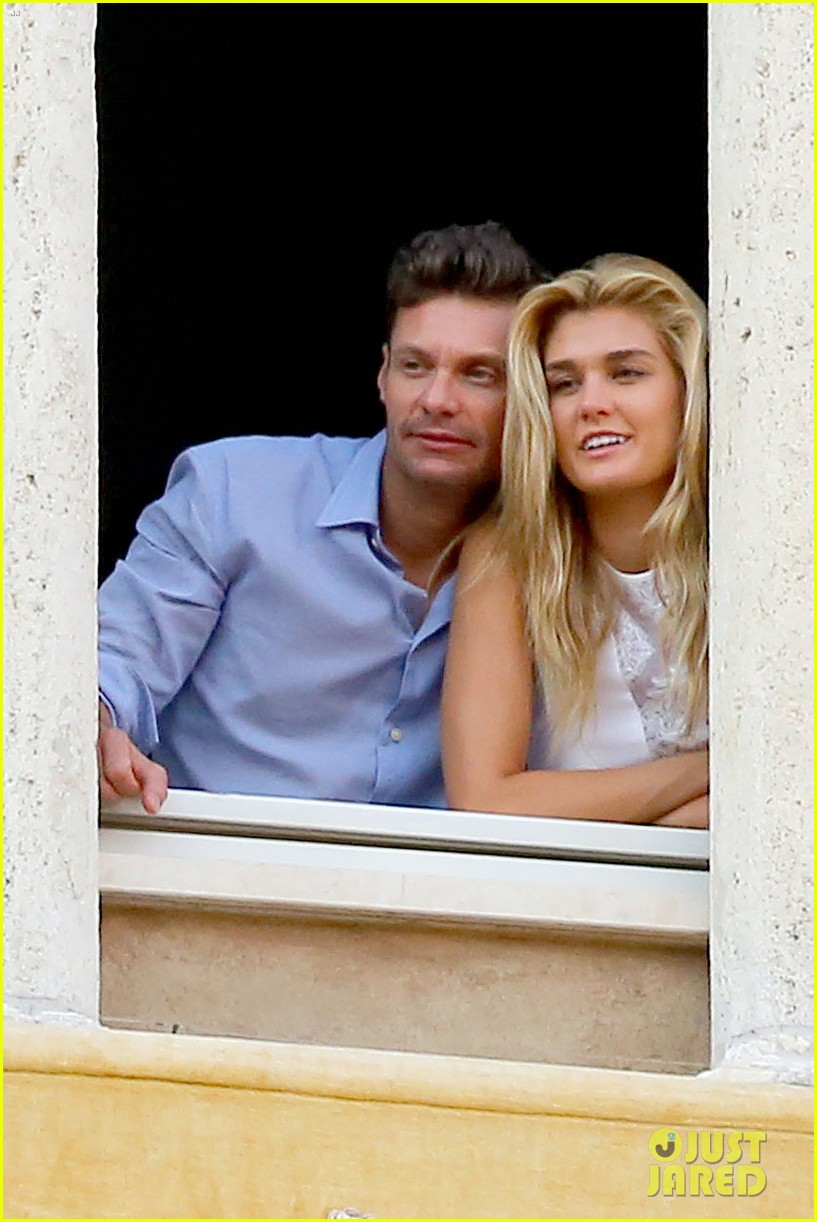 ryan seacrest cozies up to girlfriend shayna taylor 013149642