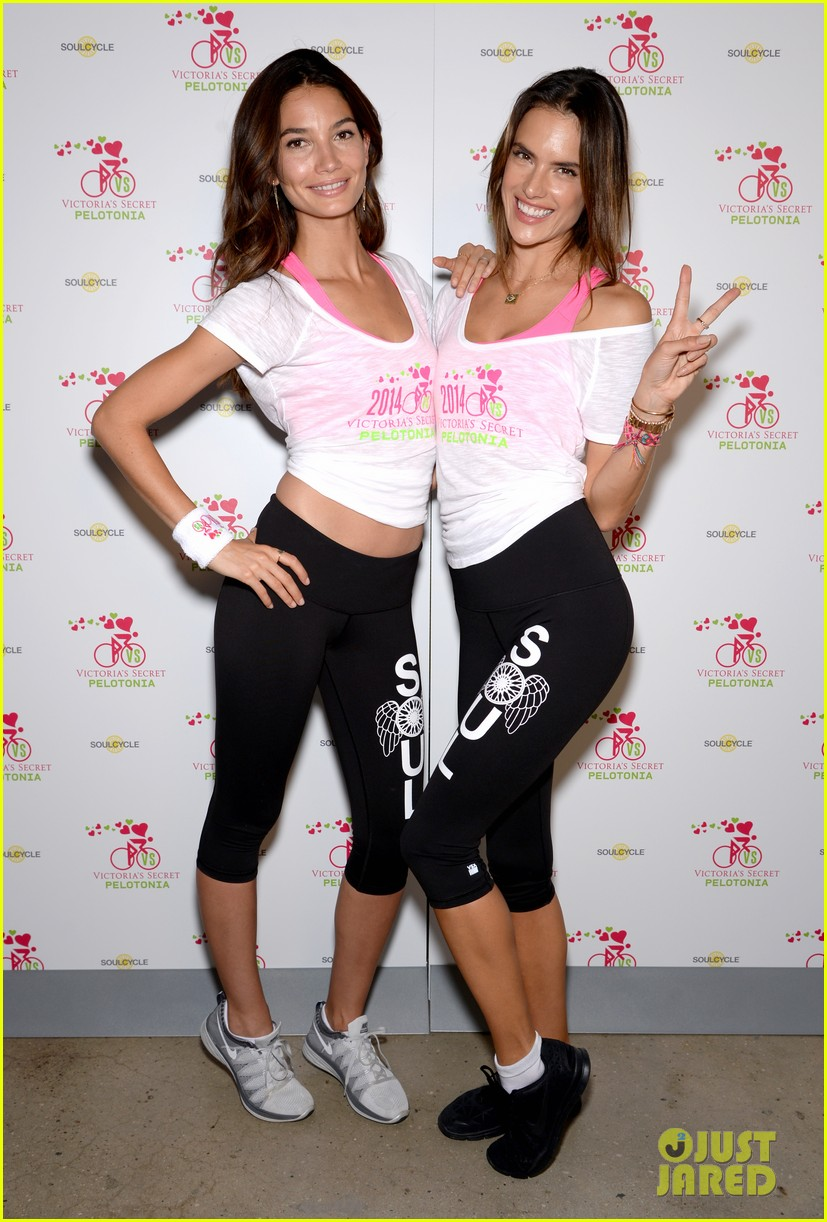 victorias secret angels go cycling for pelotonia 02