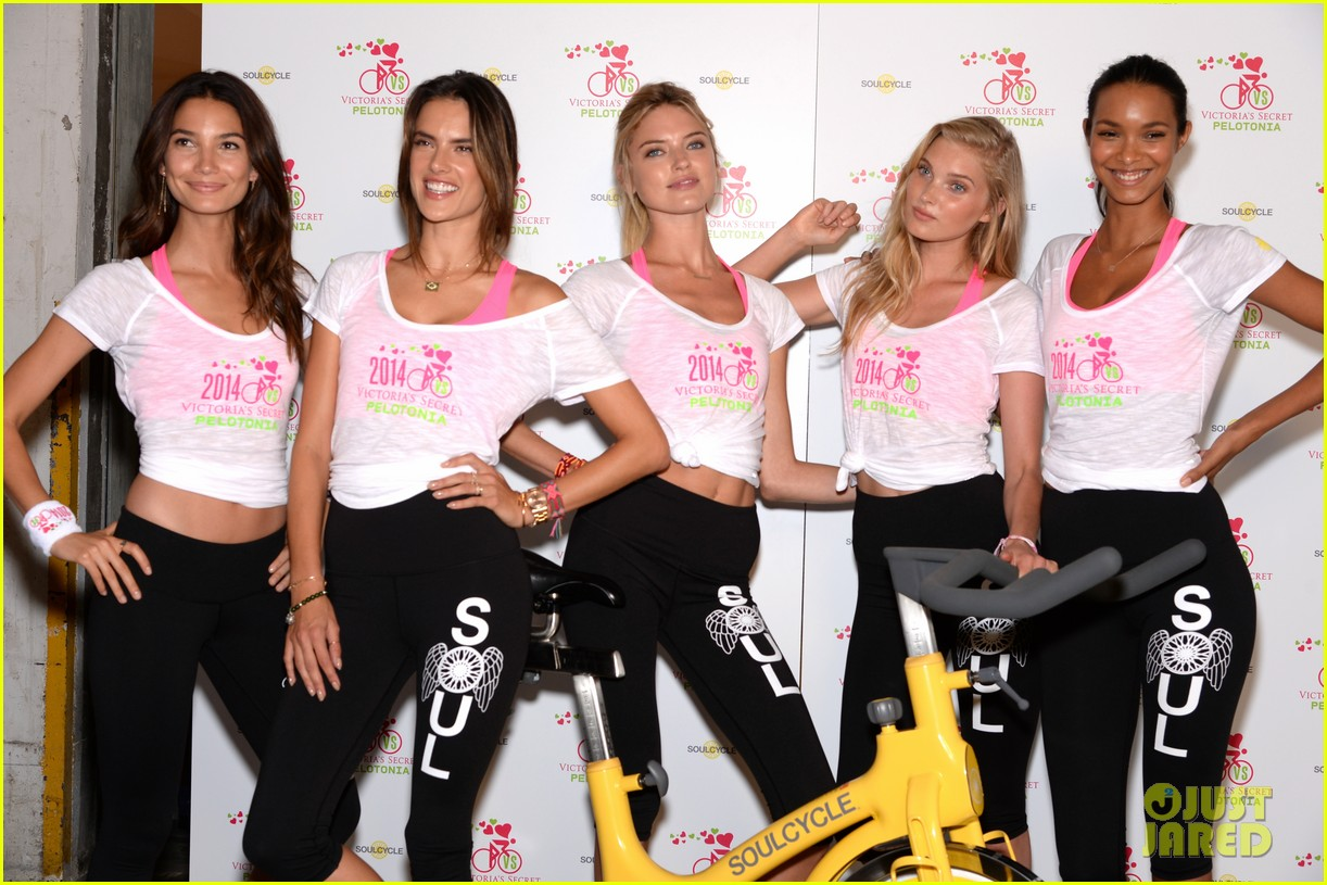 victorias secret angels go cycling for pelotonia 12