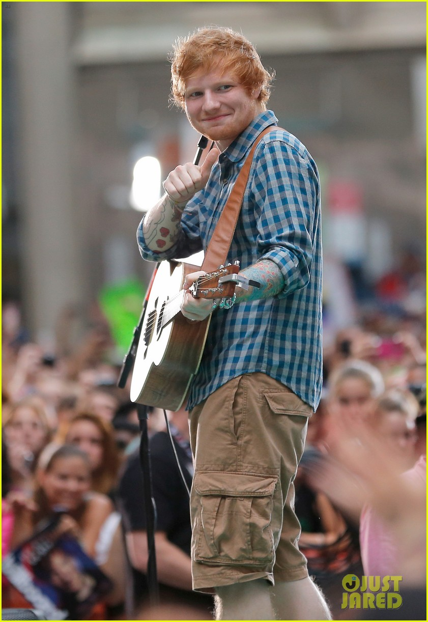 ed sheeran today show fourth of july 093149541