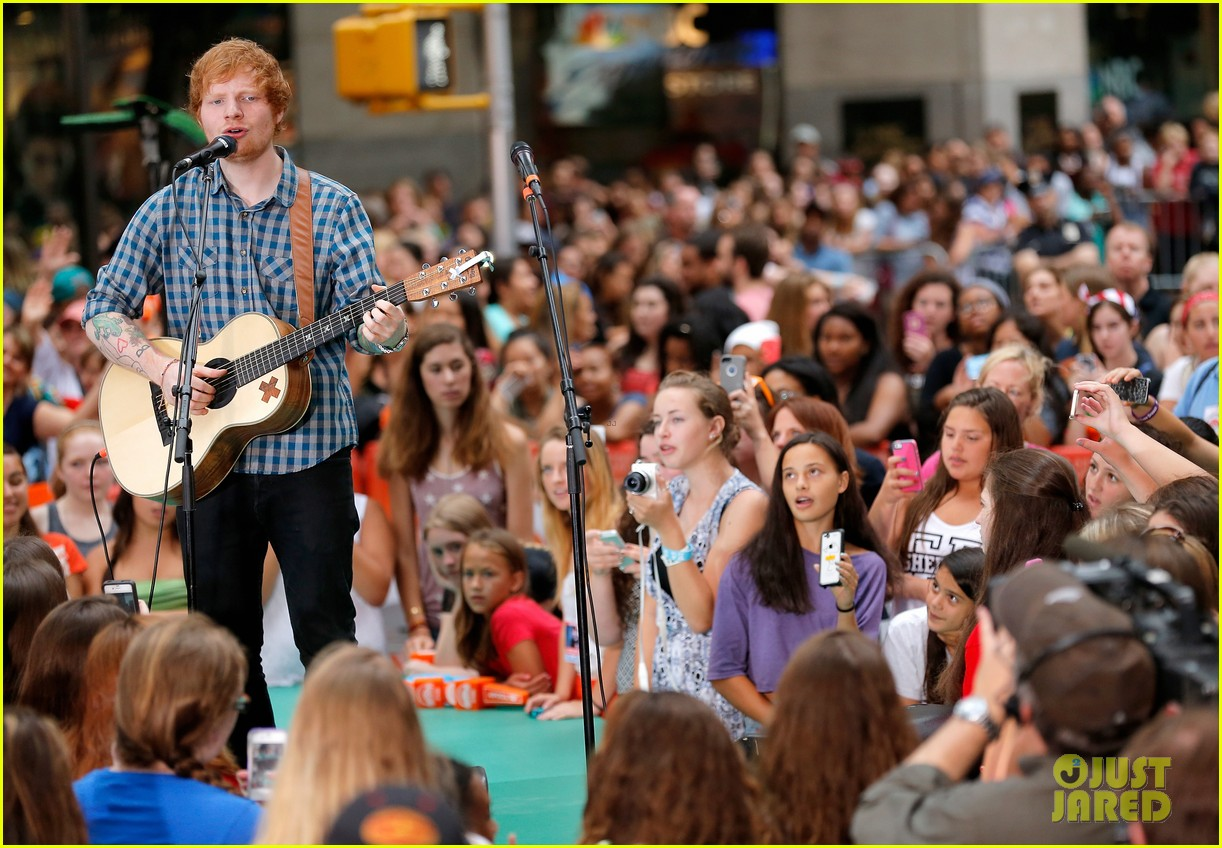 ed sheeran today show fourth of july 13
