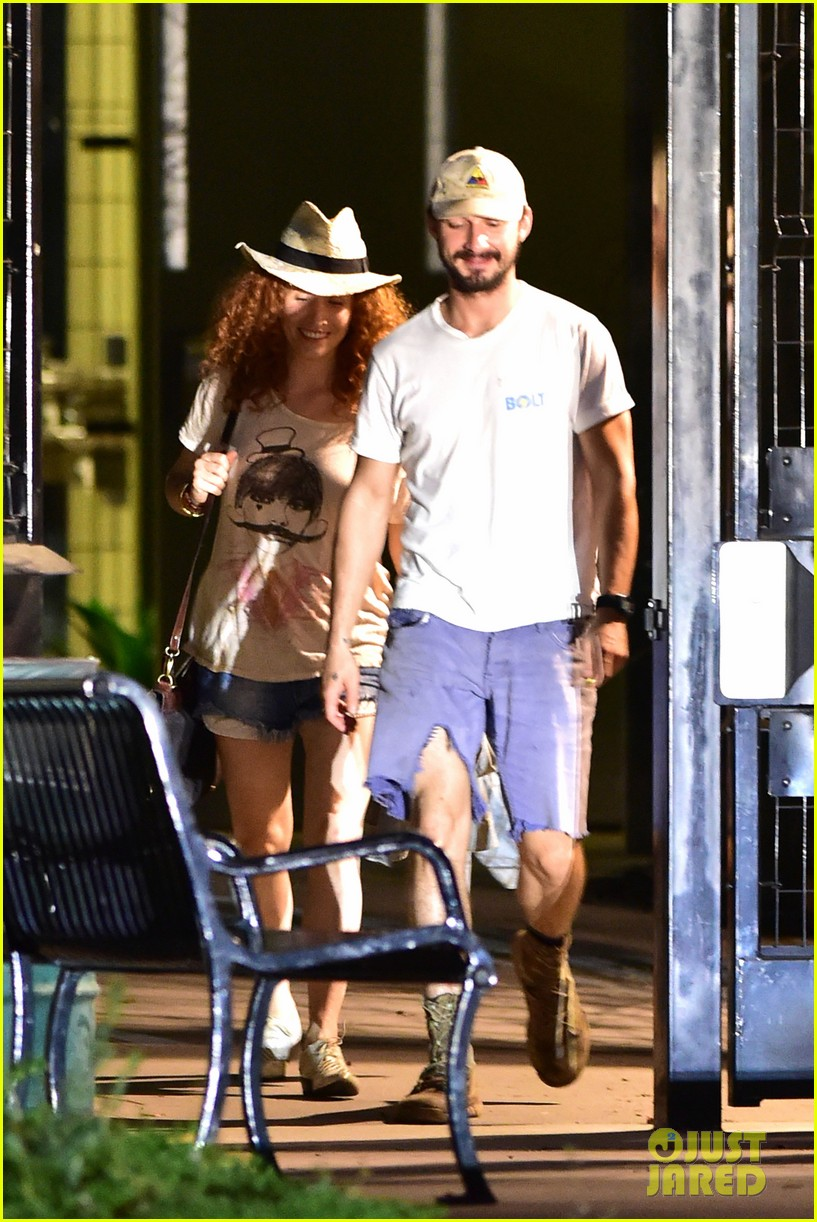 shia labeouf steps out smiling despite rehab reports 073147711