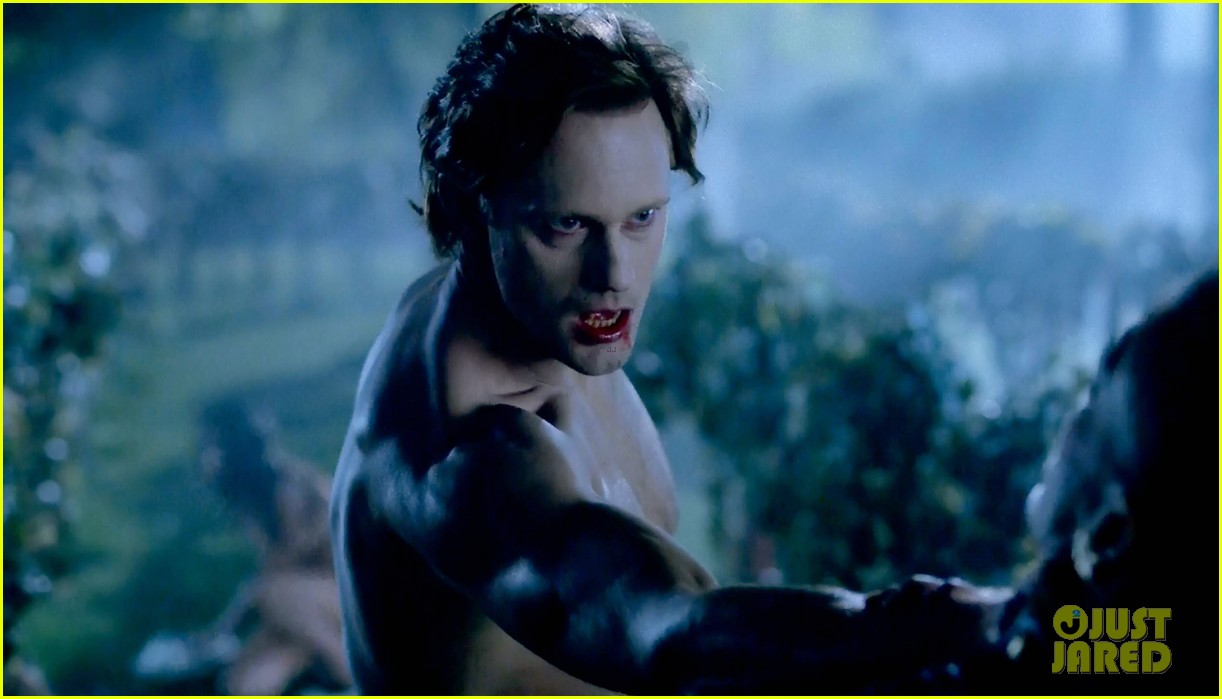 alexander skarsgard butt naked true blood 14