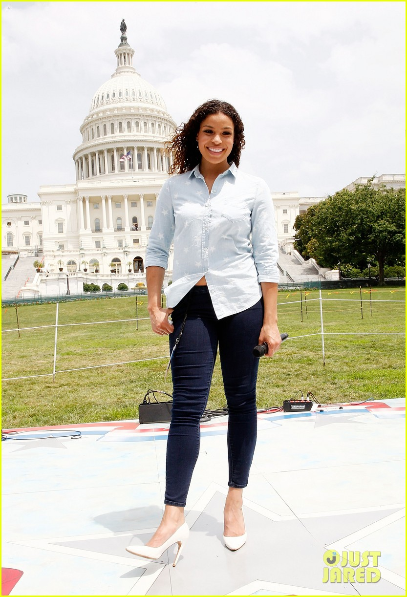 jordin sparks capitol 4th rehearsals 09