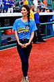 lily aldridge gigi hadid throw out first pitch at baseball game 23