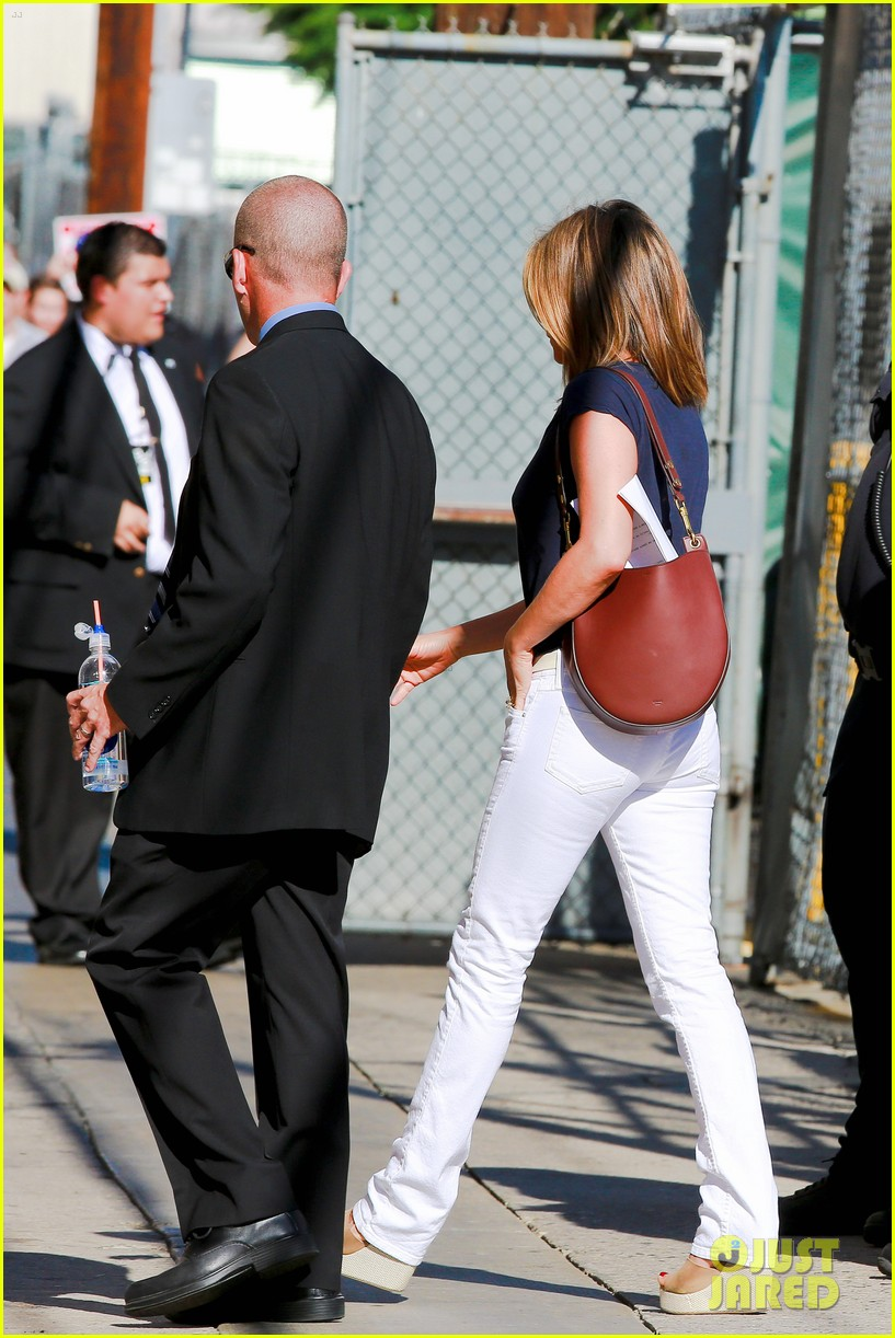 jennifer aniston jimmy kimmel live 033185065