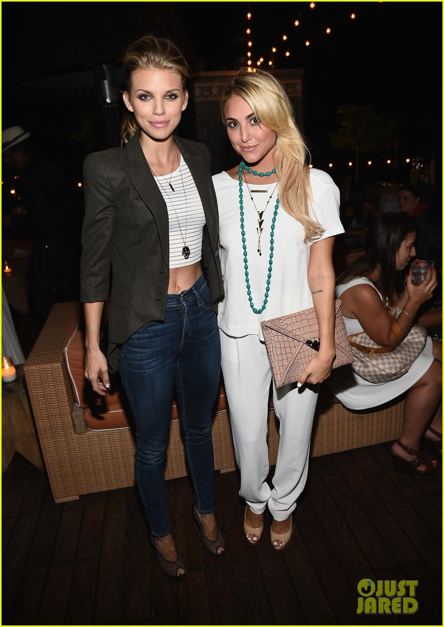 annalynne mccord cassie scerbo 18 for 18 summer soiree 10