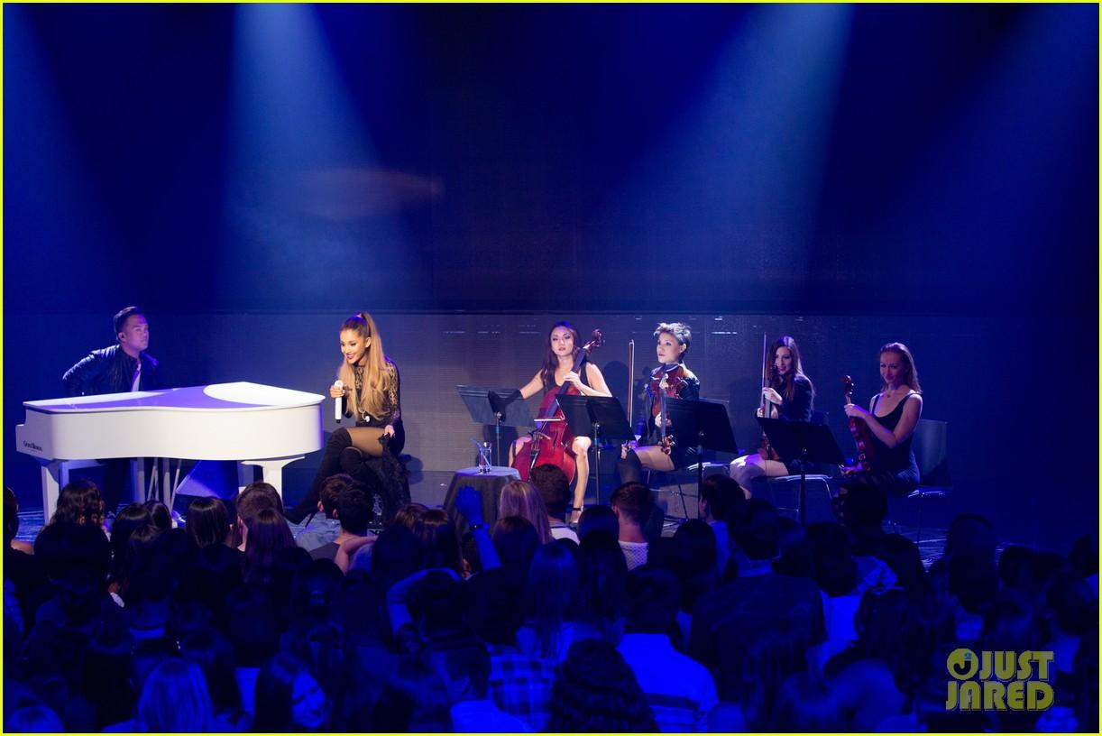 ariana grande iheart album release party pics 27