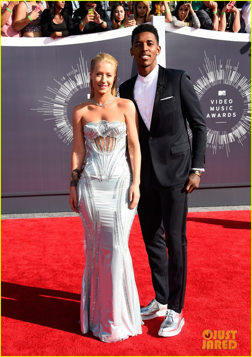 iggy azalea nick young mtv vmas 2014 073182332
