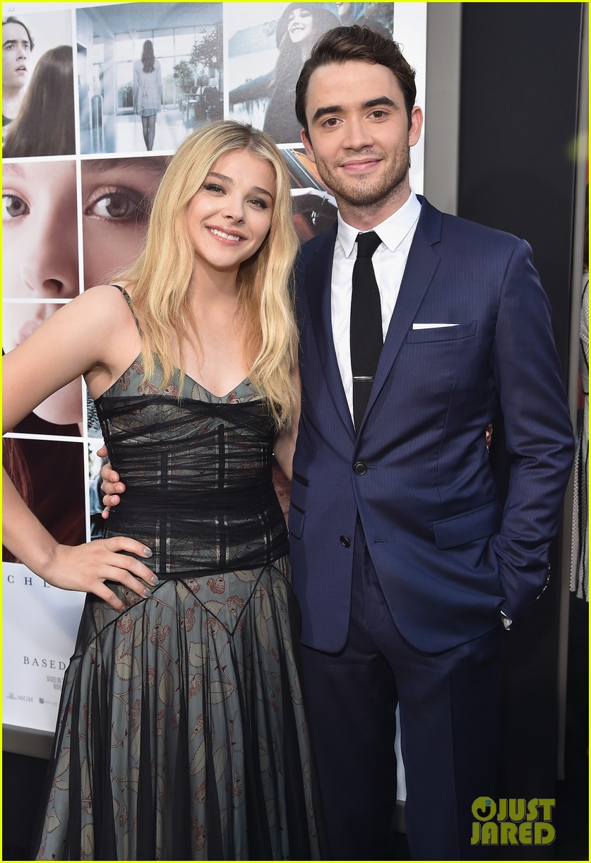 brooklyn beckham chloe moretz if i stay premiere 02