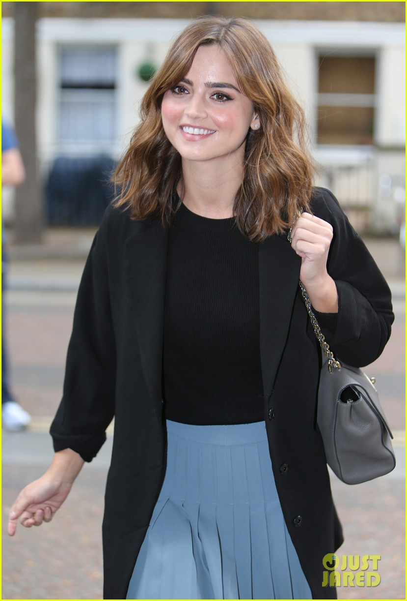 jenna coleman peter capaldi bbc itv photo call london 063180957