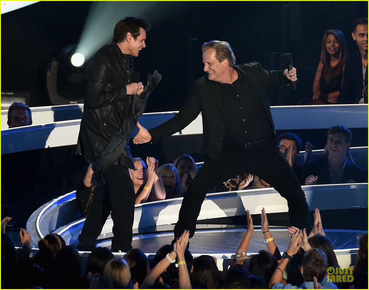 jim carrey jeff daniels mtv vmas 2014 033182511
