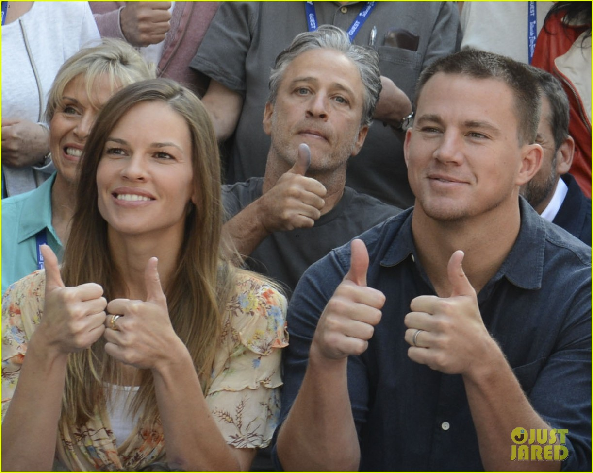 channing tatum hilary swank telluride two thumbs up 033186920