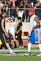 chris brown karrueche tran celebrity flag football game 17