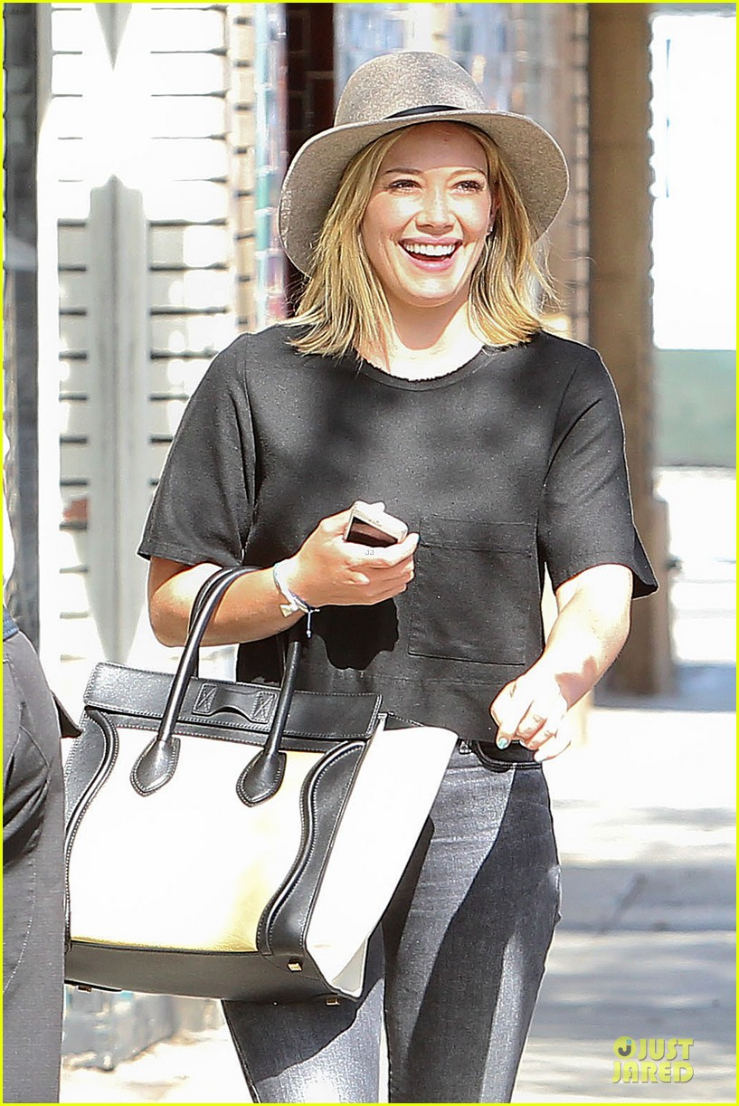 hilary duff looks happy after all about you lyric video drops 043179353