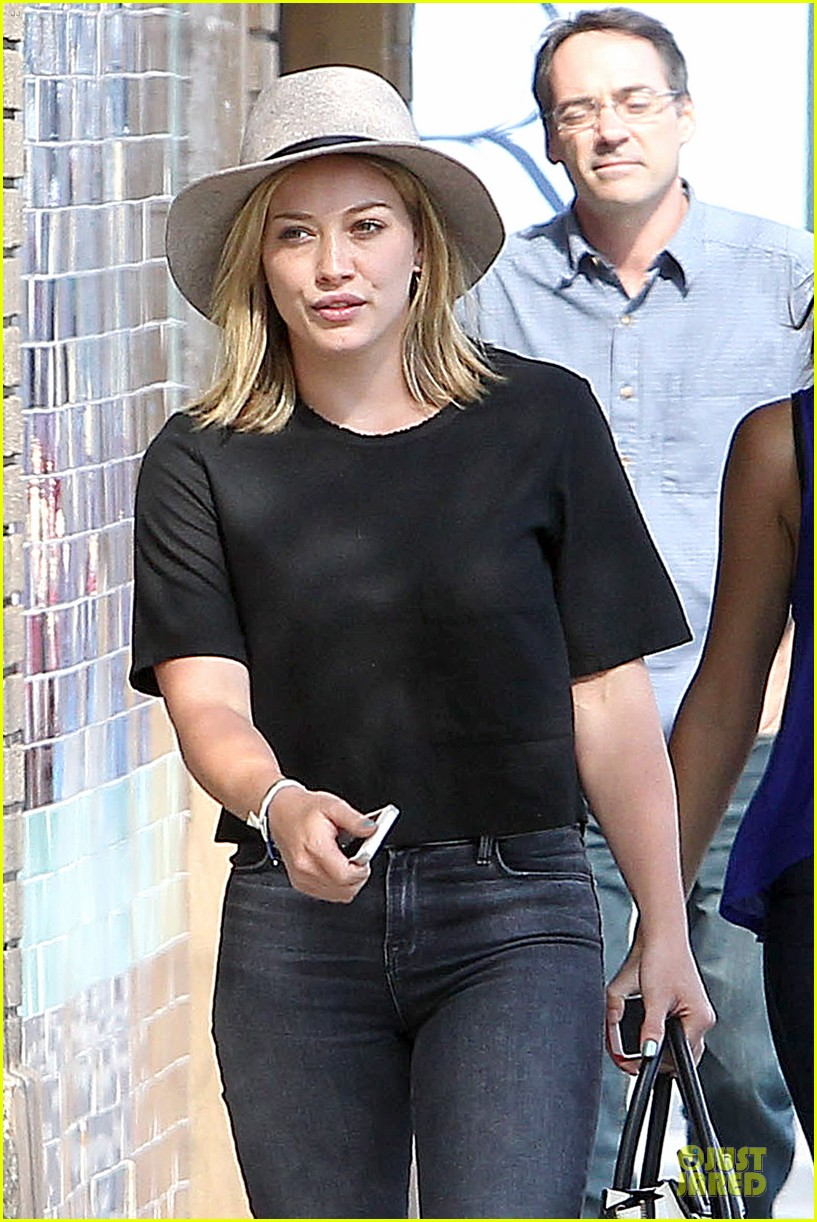 hilary duff looks happy after all about you lyric video drops 09