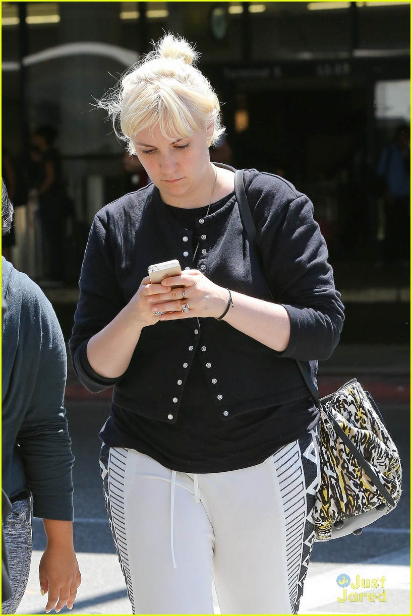lena dunham platinum blonde lax hedwig broadway 143180716