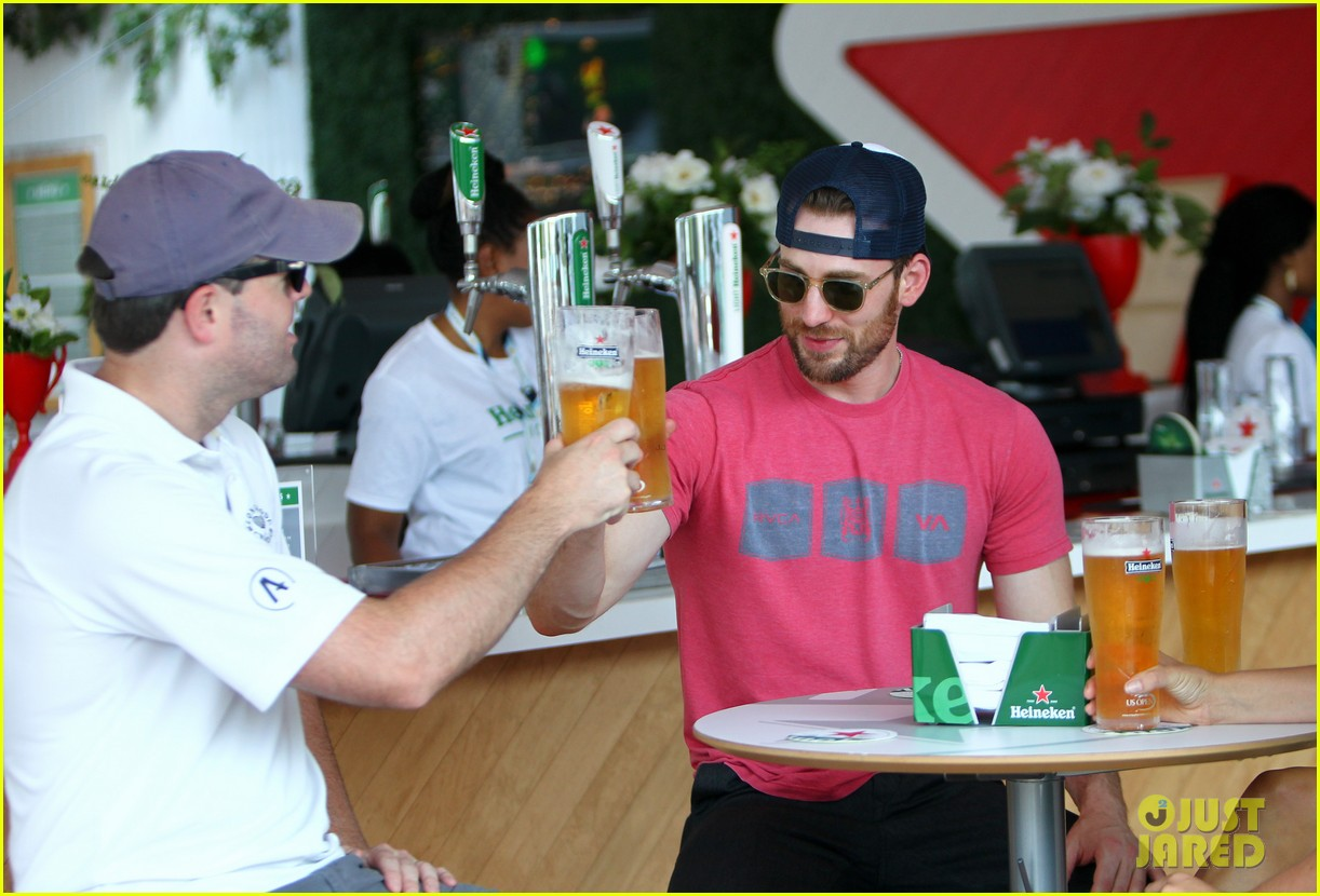 chris evans us open heineken house 03