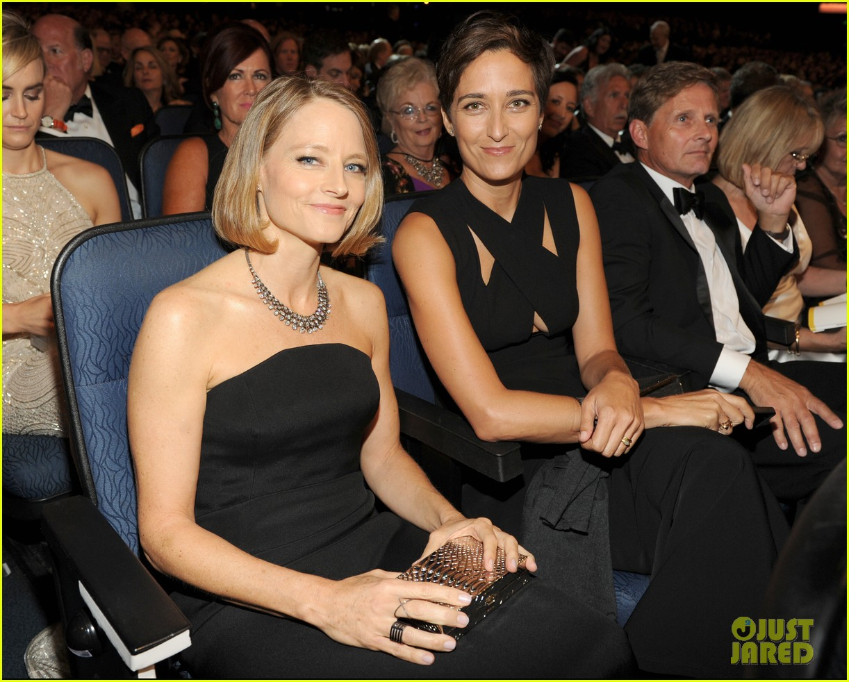 jodie foster wife alexandra hedison emmys 2014 033184027