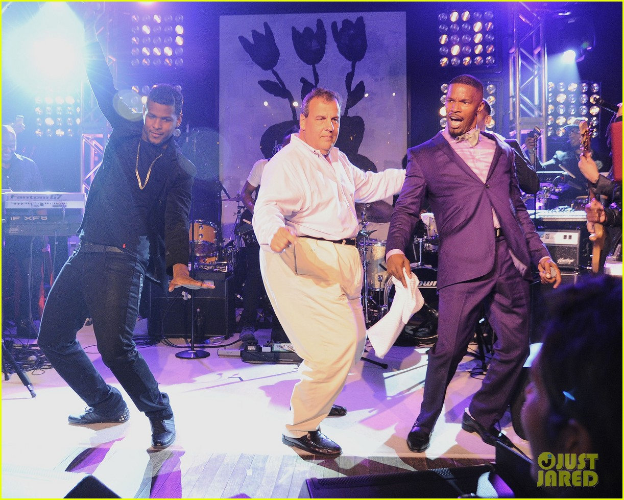 jamie foxx chris christie dance the night away 05
