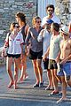 gaspard ulliel gaelle pietri enjoy mykonos vacation 15