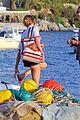 gaspard ulliel gaelle pietri enjoy mykonos vacation 19