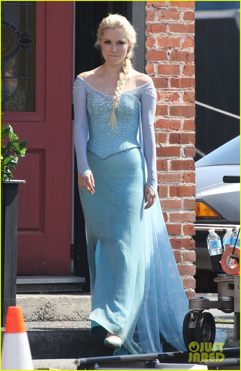 Elsa Once Upon A Time Dress