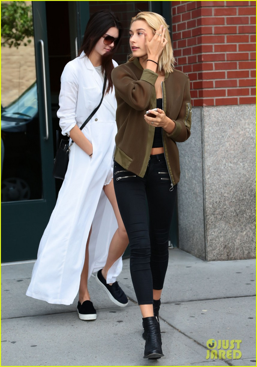 kendall jenner hailey baldwin nyc again 143186849