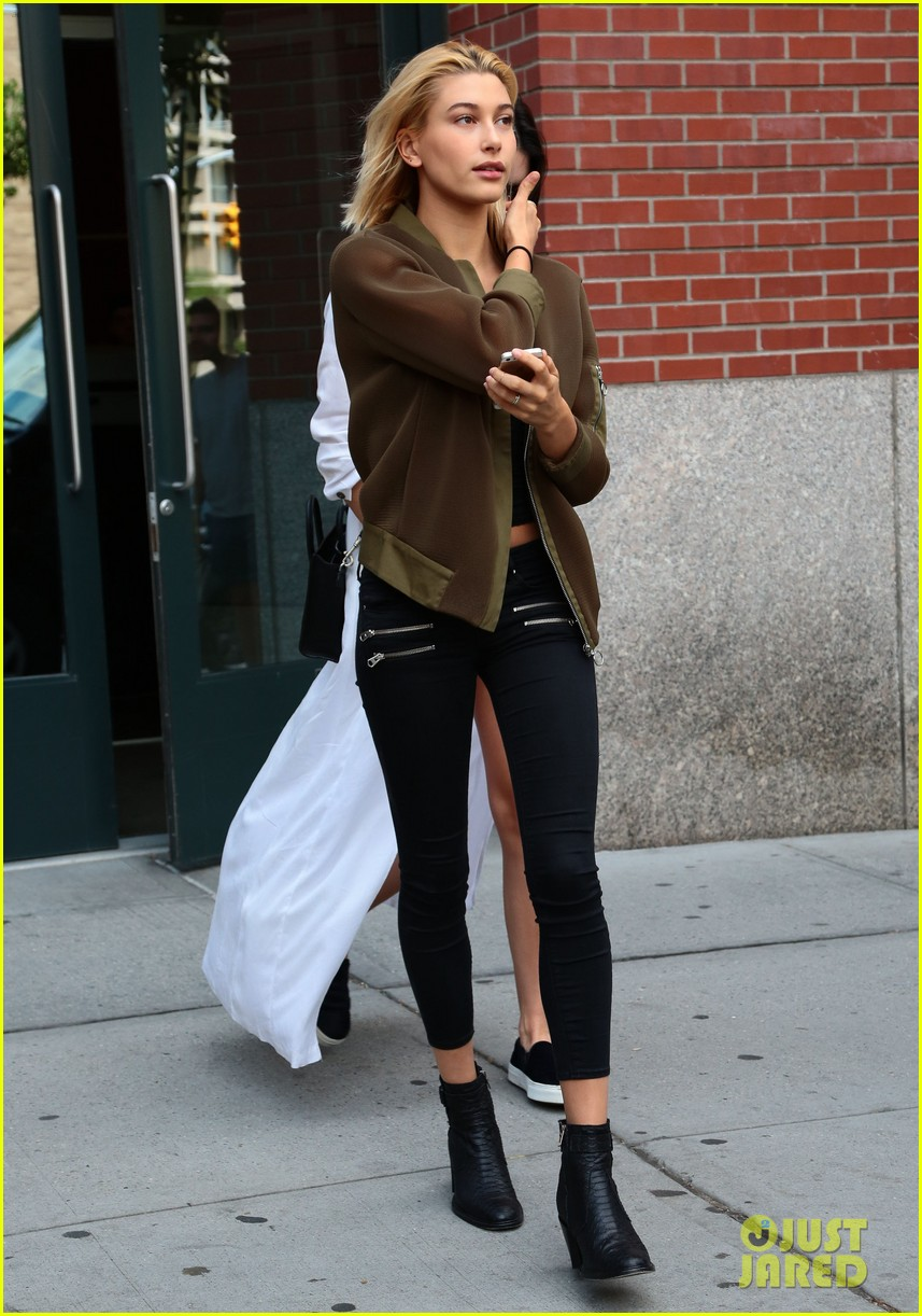 kendall jenner hailey baldwin nyc again 15