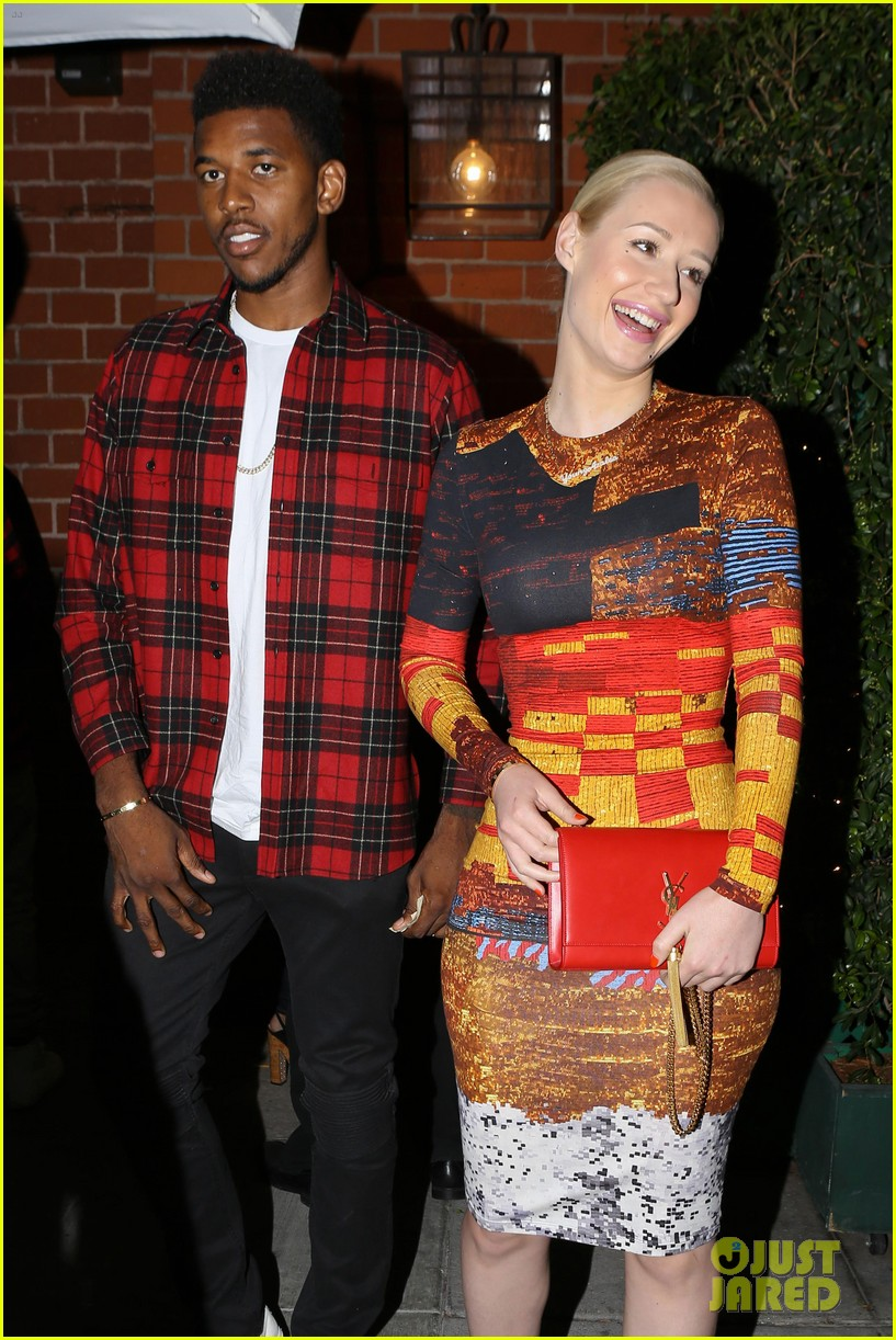 iggy azalea nick young date night on the town 023179624